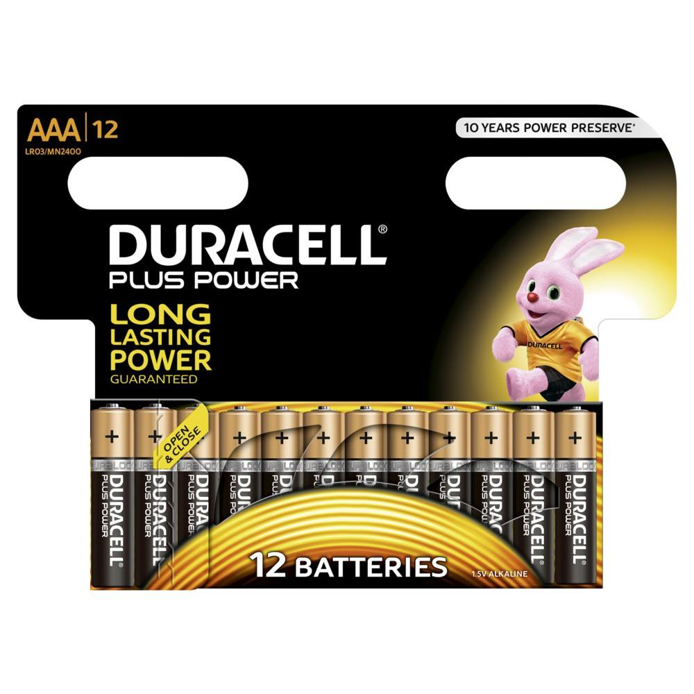 Duracell Plus Power blister x 12
